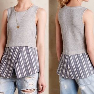Anthropologie Sunday in Brooklyn Ashton Tank Sz M